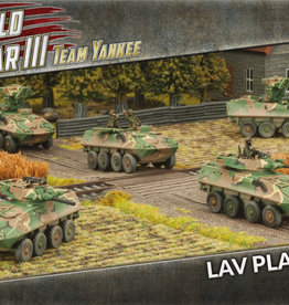 Battlefront Miniatures Team Yankee American: LAV Platoon (Plastic)