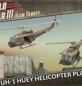 Battlefront Miniatures Team Yankee American: UH-1 Huey Transport Helicopter Platoon
