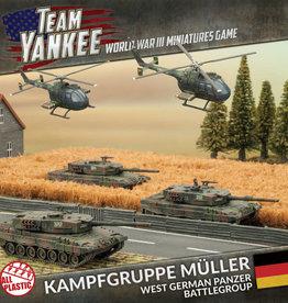 Battlefront Miniatures Team Yankee: German: Kampfgruppe Muller [2017 Version]
