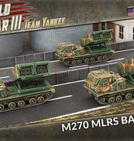 Battlefront Miniatures Team Yankee American: M270 MLRS Rocket Launcher Battery