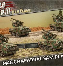 Battlefront Miniatures Team Yankee American: M48 Chaparral SAM Platoon