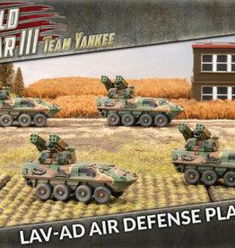 Battlefront Miniatures Team Yankee American: LAV-AD Air Defense Platoon