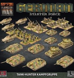 """Battlefront Miniatures Flames of War: Late War - German """"Tank-Hunter Kampfgruppe"""" Starter Force"""