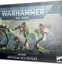 WarHammer Warhammer 40,000: Necrons - Ophydian Destroyers