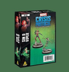 Atomic Mass Games Marvel Crisis Protocol: Sin and Viper