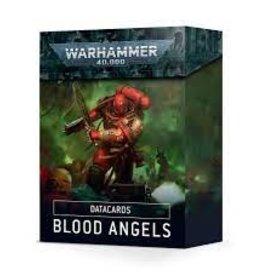 WarHammer Warhammer 40K: Space Marines Blood Angels Datacards