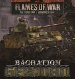 Battlefront Miniatures Flames of War: Bagration: German Command Cards