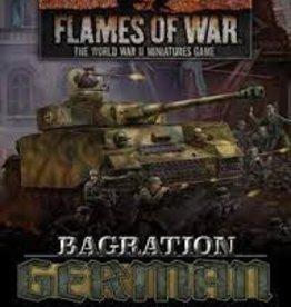 Battlefront Miniatures Flames of War: Bagration: German Unit Cards
