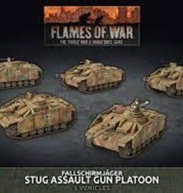 Battlefront Miniatures Flames of War: Fallschirmjäger Stug Assault Gun Platoon