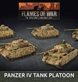 Battlefront Miniatures Flames of War: Panzer IV Tank Platoon