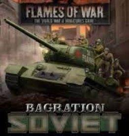 Battlefront Miniatures Flames of War: Bagration: Soviet Command Cards