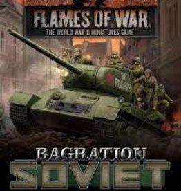 Battlefront Miniatures Flames of War: Bagration: Soviet Unit Cards