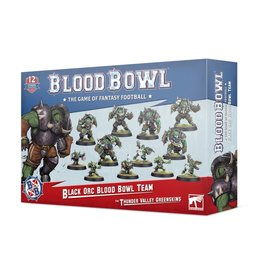 Games Workshop Blood Bowl: Black Orc Blood Bowl Team: The Thunder Valley Greenskins