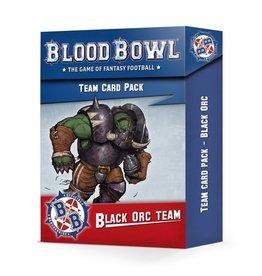 Games Workshop Blood Bowl: Black Orc Team Card Pack