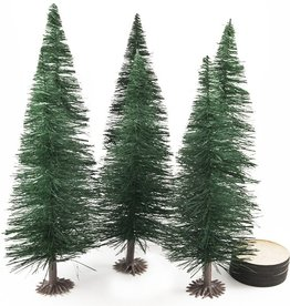 Huge Miniatures: Evergreen Tree Substructures