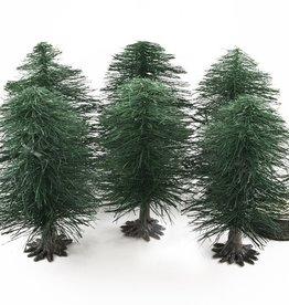 Huge Miniatures: Deciduous Tree Substructures