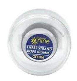 Hobby Scenics: Three Strand Rope (0.5mm)