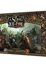 CMON A Song of Ice & Fire: Stark vs Lannister Starter Set