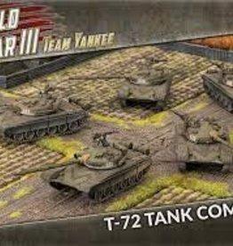 Battlefront Miniatures Team Yankee Soviet: T-72 Tankovy Company