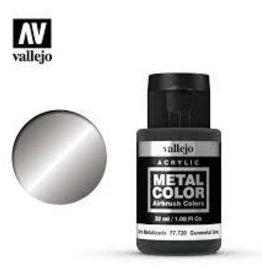 Vallejo Vallejo Mediums (32ml): Gunmetal Grey Metal Color