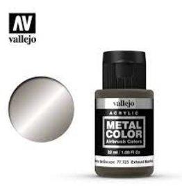 Vallejo Vallejo Mediums (32ml): Exhaust Manifold Metal Color