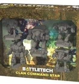 Catalyst Game Labs BattleTech: Clan Command Star