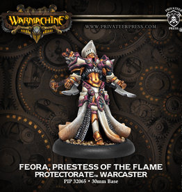 Warmachine: Menoth: Feora, Priestess of the Flame
