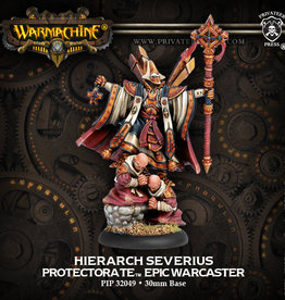 Warmachine: Menoth: Hierarch Severious