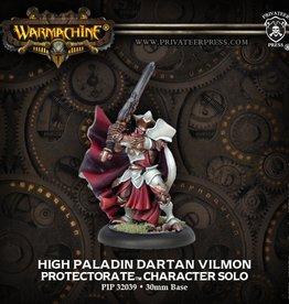 Warmachine: Menoth: High Paladin Dartan Vilmon