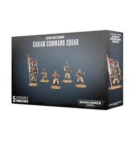 Games Workshop Warhammer 40,000: Astra Militarum: Cadian Command Squad
