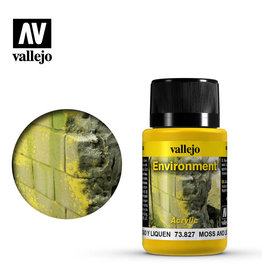 Vallejo Vallejo Weathering Effects: Moss and Lichen (40ml)