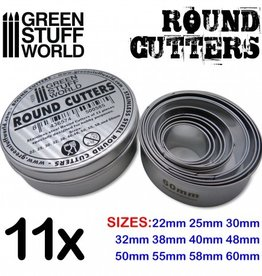 Green Stuff World: Round Cutters for Bases