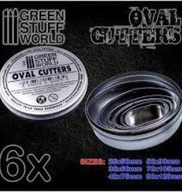 Green Stuff World Green Stuff World: Oval Cutters for Bases