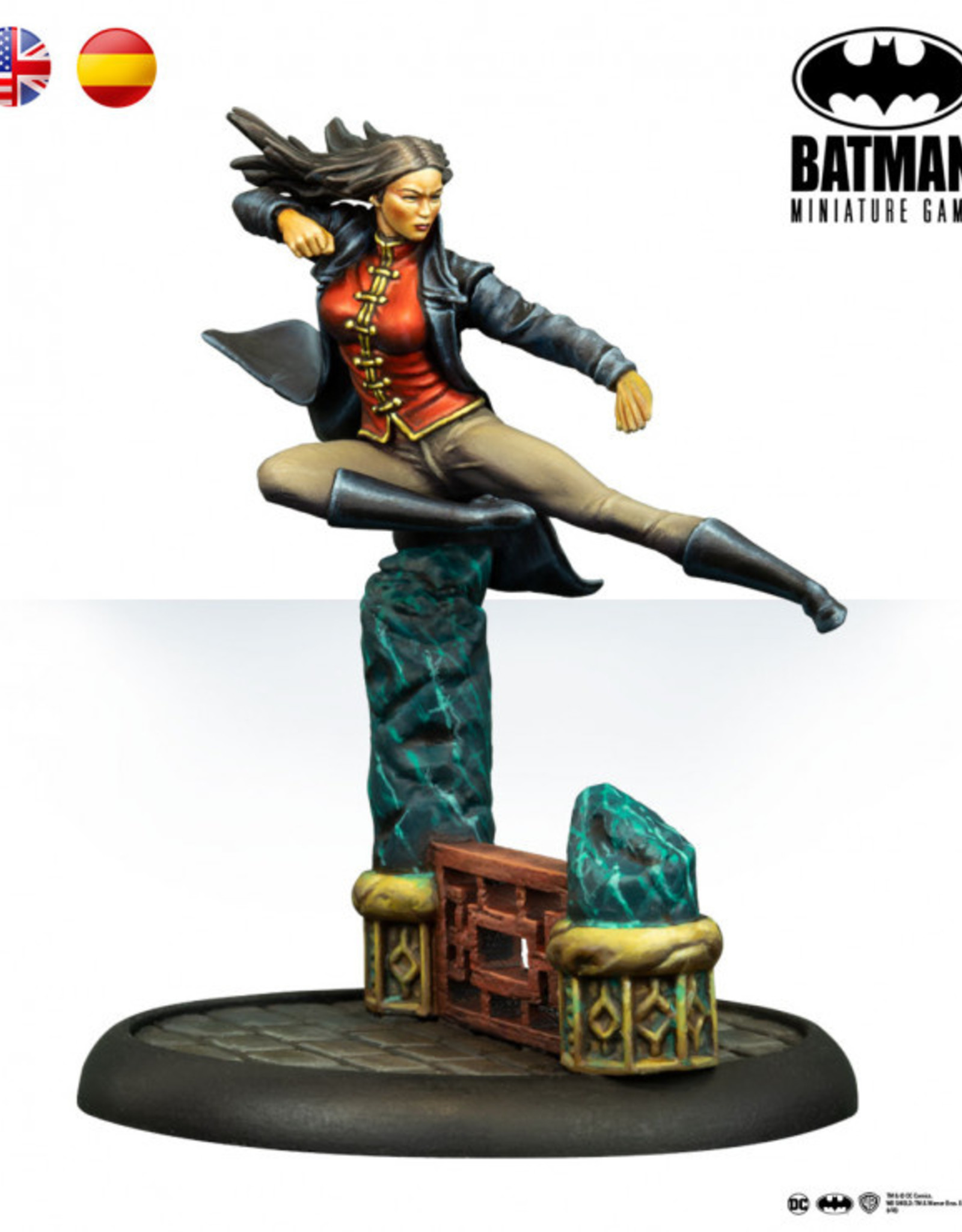 Batman Miniature Game: Lady Shiva