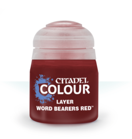 Citadel Paints: Word Bearers Red (Layer)