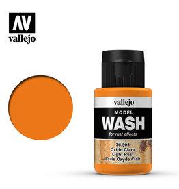 Vallejo Vallejo Model Wash: Light Rust