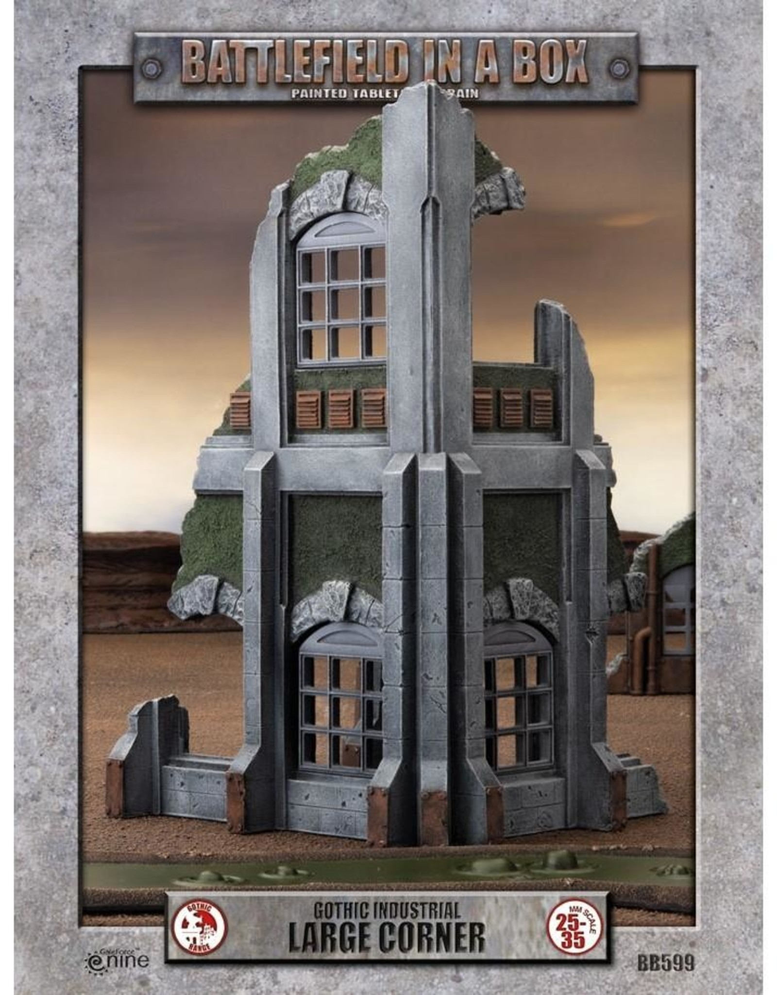 Battlefield in a Box: Gothic Industrial- Large Corner