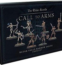 Modiphius Elder Scrolls Call To Arms: Bleak Falls Barrow Delve Starter Set