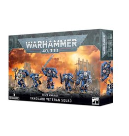 Games Workshop Warhammer 40,000: Space Marines: Vanguard Veteran Squad