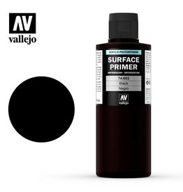 Vallejo Vallejo Surface Primer (200ml): Black