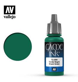 Vallejo Vallejo Game Colors - 090 Black Green Ink
