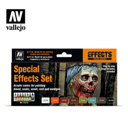 Vallejo Vallejo: Special Effects Set