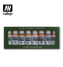 Vallejo Vallejo Model Colors Set- 70124 Skintones