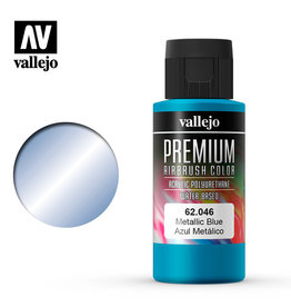 Vallejo Premium Color: Metallic Blue (60ml)