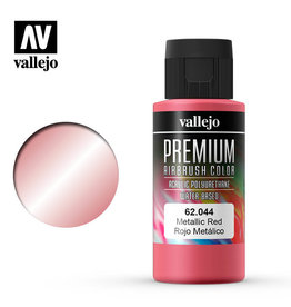 Vallejo Vallejo Premium Color: Metallic Red (60ml)