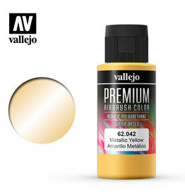 Vallejo Vallejo Premium Color: Metallic Yellow (60ml)