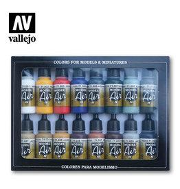 Vallejo Model Air: 71178 Basic Color Pack