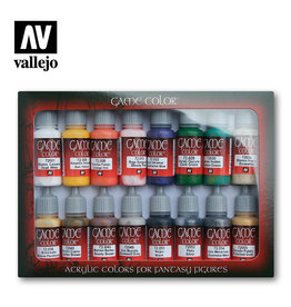 Vallejo Vallejo Game Colors Set- 72299 Introduction Set
