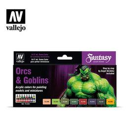 Vallejo Vallejo: Game Color Series: Orcs & Goblins