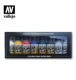 Vallejo Vallejo Model Air Colors 71174: Basic Colors Set